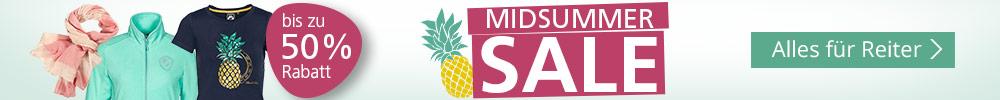 Midsummer Sale - Alles für Reiter