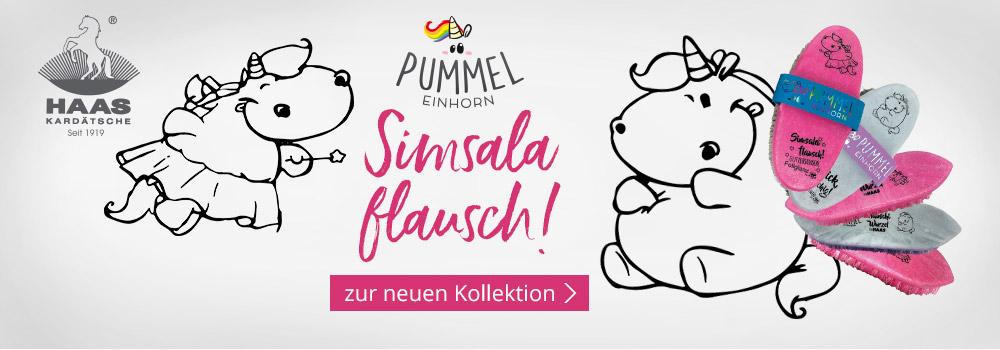 Die neue Pummeleinhorn-Haas-Bürsten-Kollektion!