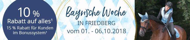 Bayrische Woche bei Ihrem Loesdau Friedberg