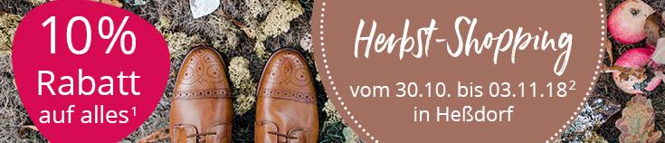 Herbst-Shopping bei Ihrem Loesdau Heßdorf