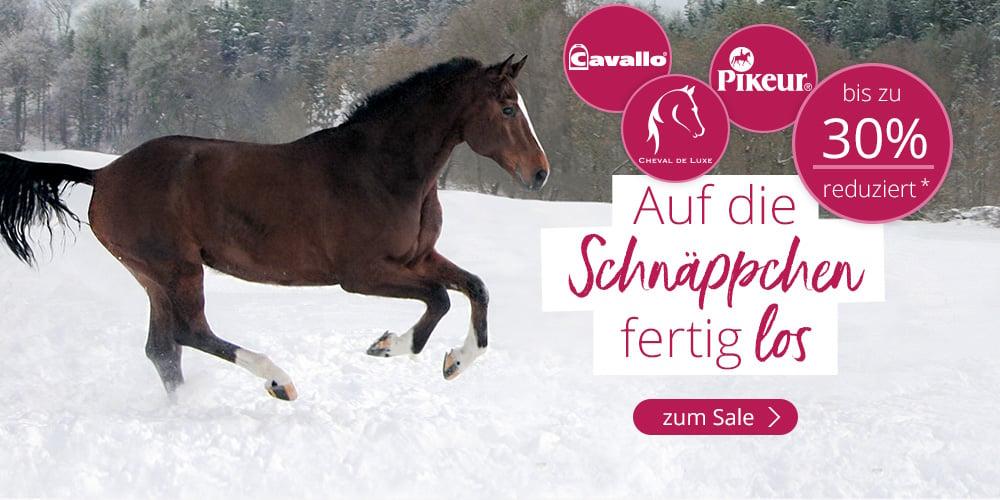 Cheval de Luxe, Pikeur und Cavallo bis zu 30% reduziert*