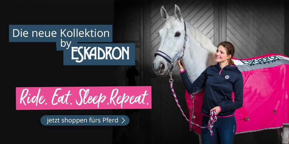 Die neue Kollektion by Eskadron: Ride.Eat.Sleep.Repeat