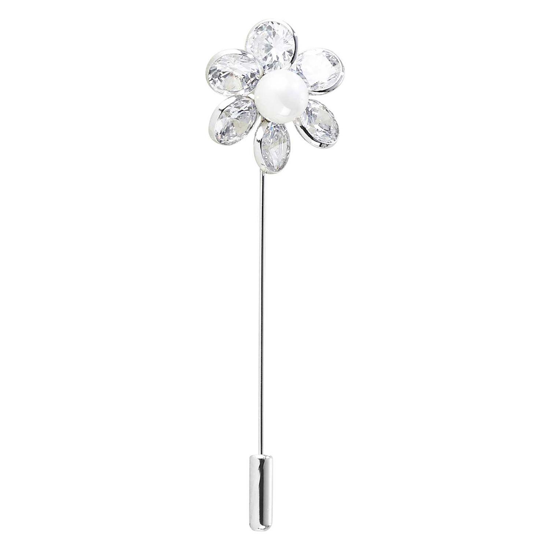 BUSSE Plastronnadel Blossom silber