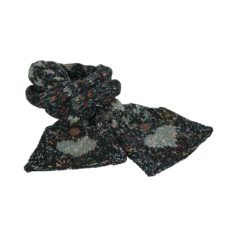 L-SPORTIV Schal Melange schwarz/bunt | Einheitsgröße