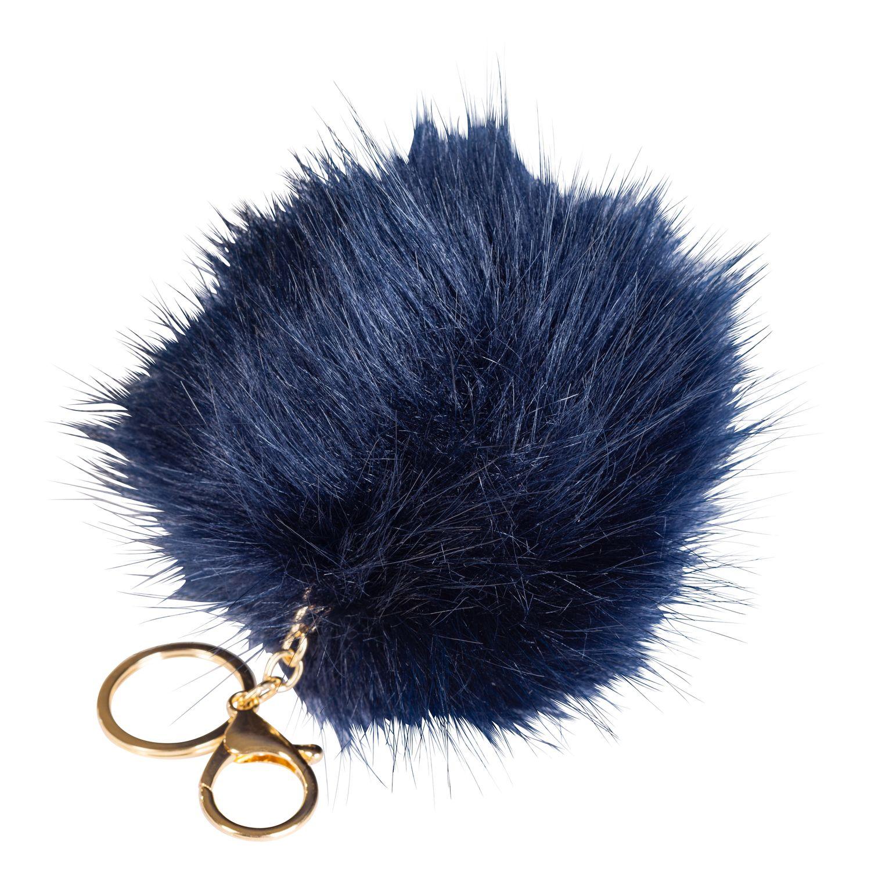 Schlüssel- und Taschenanhänger Pompon