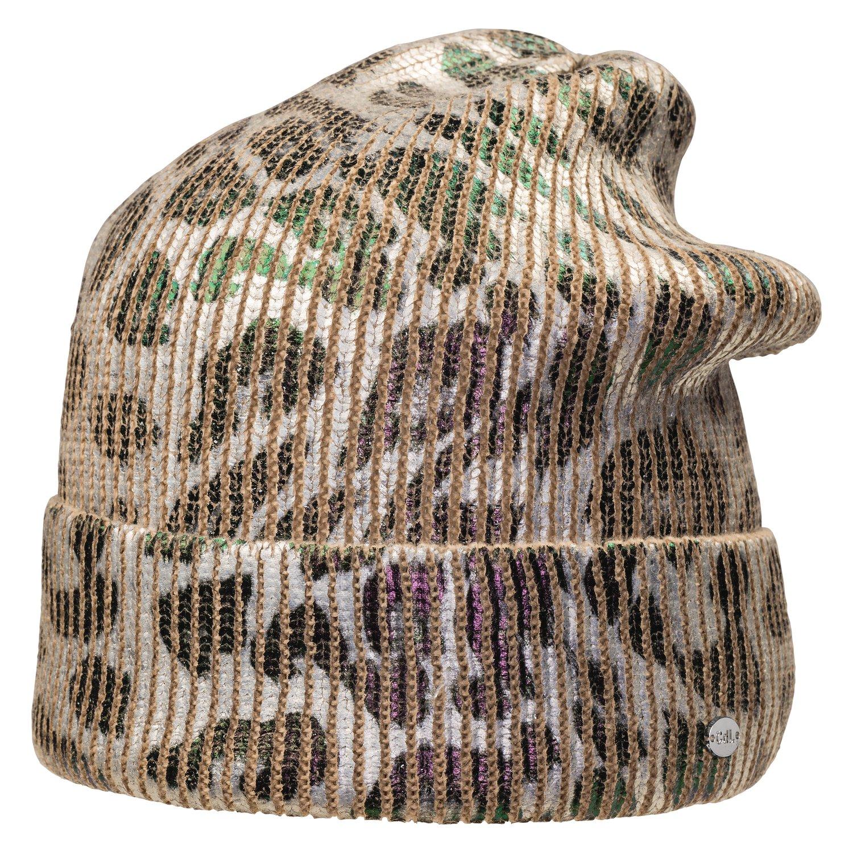 Cheval de Luxe Strickmütze im Leomuster Leo | Einheitsgröße
