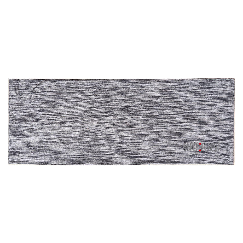 black forest Stirnband mit Reflexlogo grau melange | Einheitsgröße