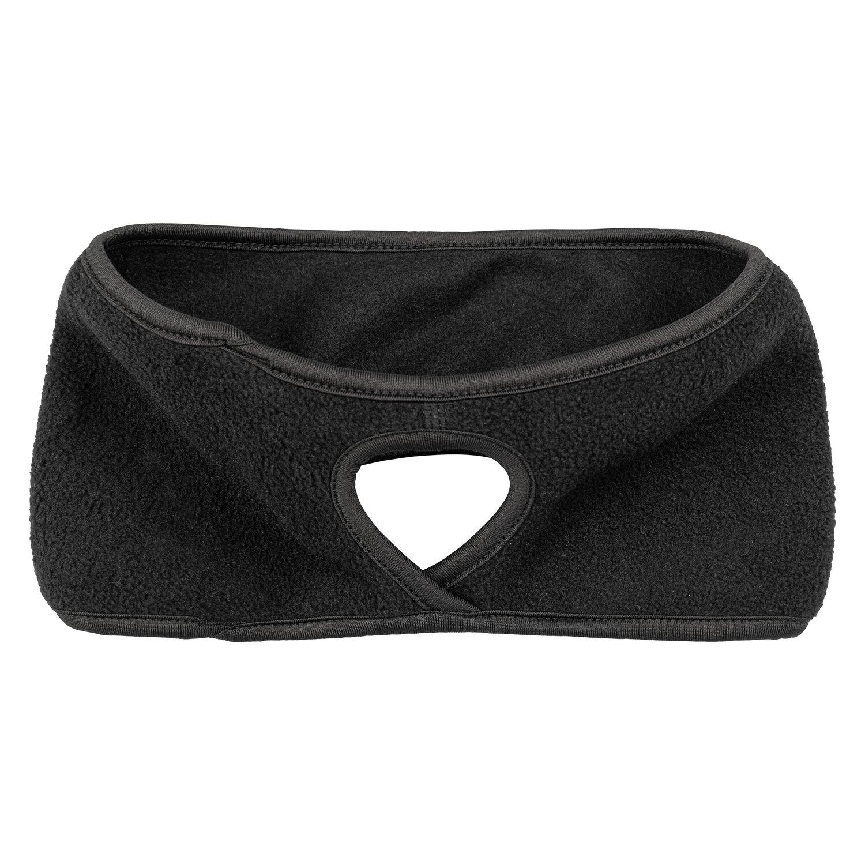 black forest Stirnband für Pferdeschwanz black | Einheitsgröße