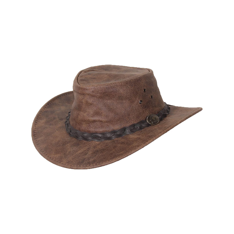 SCIPPIS Westernhut Enfield vintage brown | M