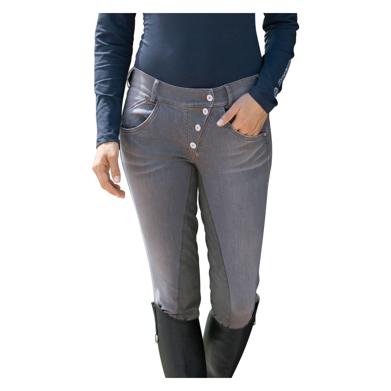 pikeur reithose belina jeans denim grey 84 klassische. Black Bedroom Furniture Sets. Home Design Ideas