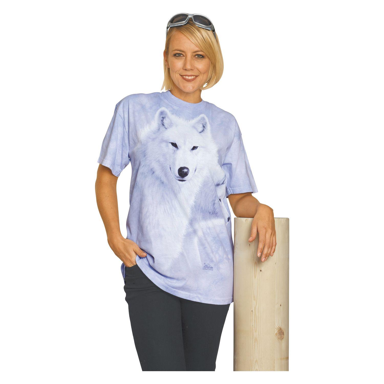 T-Shirt 'Graceful White Wolves' für Erwachsene