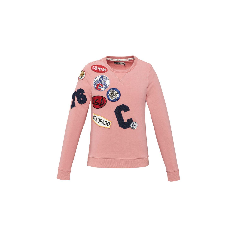 COLORADO DENIM Sweatshirt rosé | 110-116