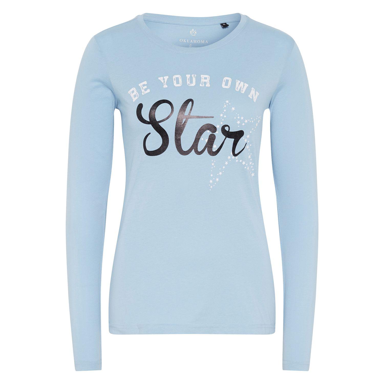 OKLAHOMA Langarmshirt Star