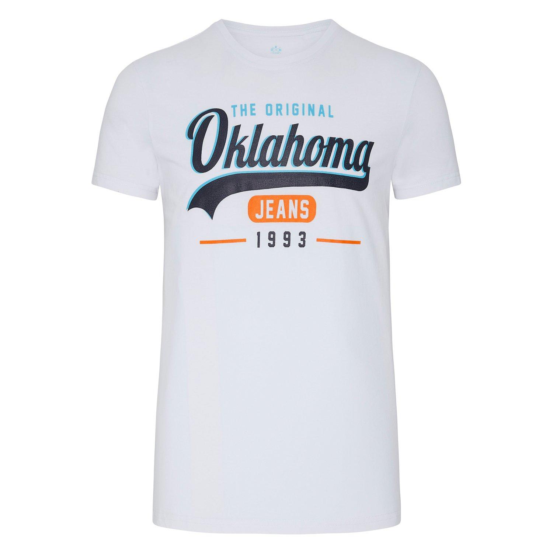 OKLAHOMA T-Shirt bright white | S
