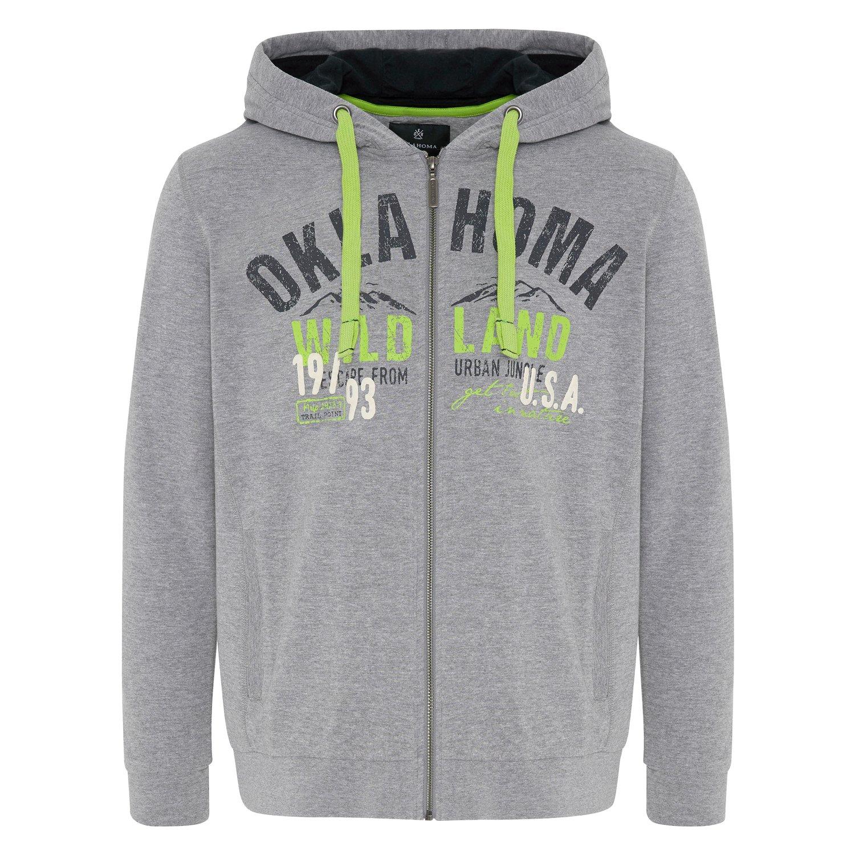 OKLAHOMA Jeans Sweatjacke