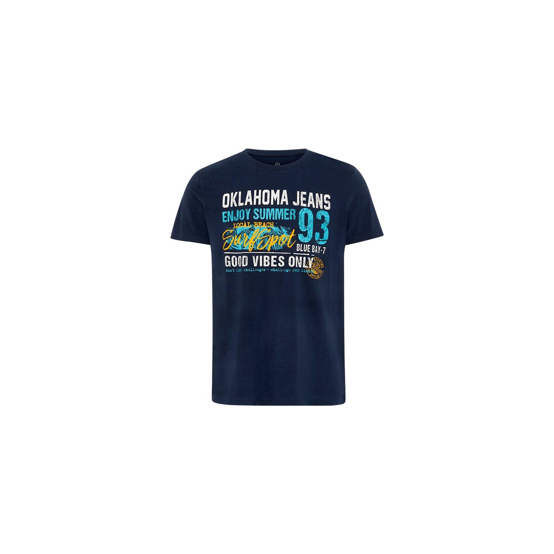 OKLAHOMA Jeans T-Shirt skycaptain | S