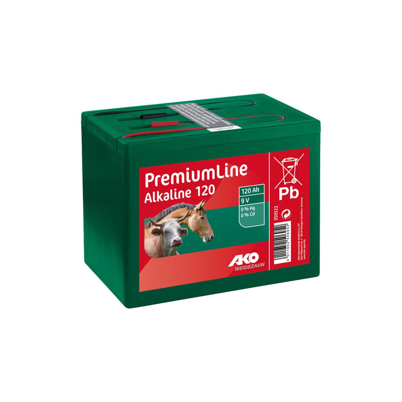 AKO Trockenbatterie Alkaline 9V/120 Ah