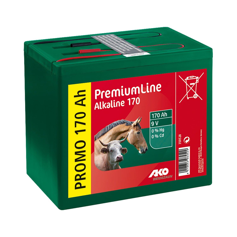 AKO aTrockenbatterie Alkaline, 9V/170 Ah