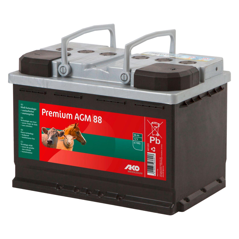 AKO Premium AGM Batterie 12V/88Ah