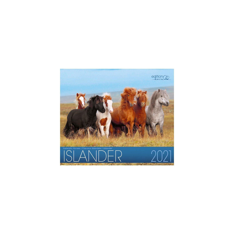 Kalender Isländer - Edition Boiselle 2021