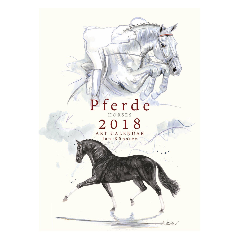 Kunstkalender Pferde, Künster