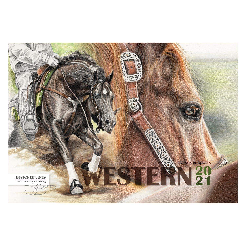 Westernhorse Kunstkalender 2021 2021