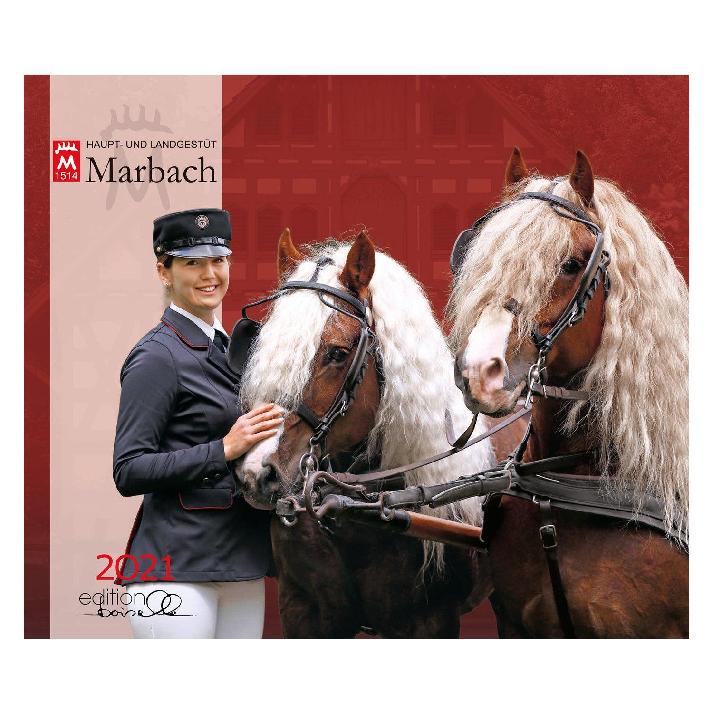 Kalender Haupt- & Landgestüt Marbach Boiselle 2021