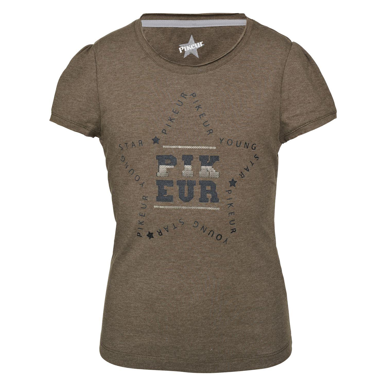 Pikeur Young Stars Collection T-Shirt Lisa oliv melange | 116-122