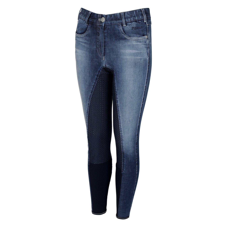 Pikeur Reithose Kalotta Grip Jeans denim midblue | 146