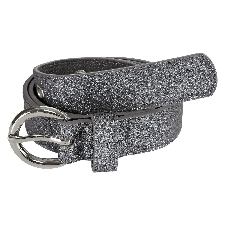 Pikeur Gürtel, für Kinder grey glitter | 45 cm