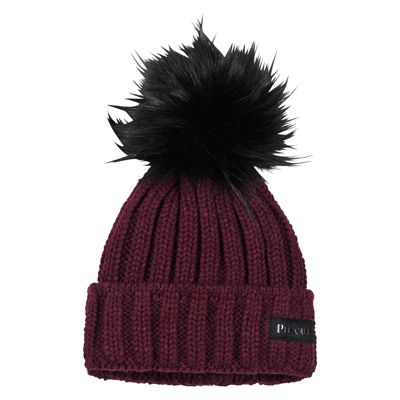 Pikeur New Generation Mütze mit Fell-Imitat-Bommel