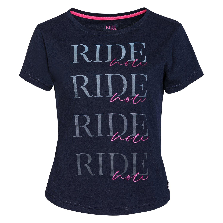 RIDE now Rundhalsshirt