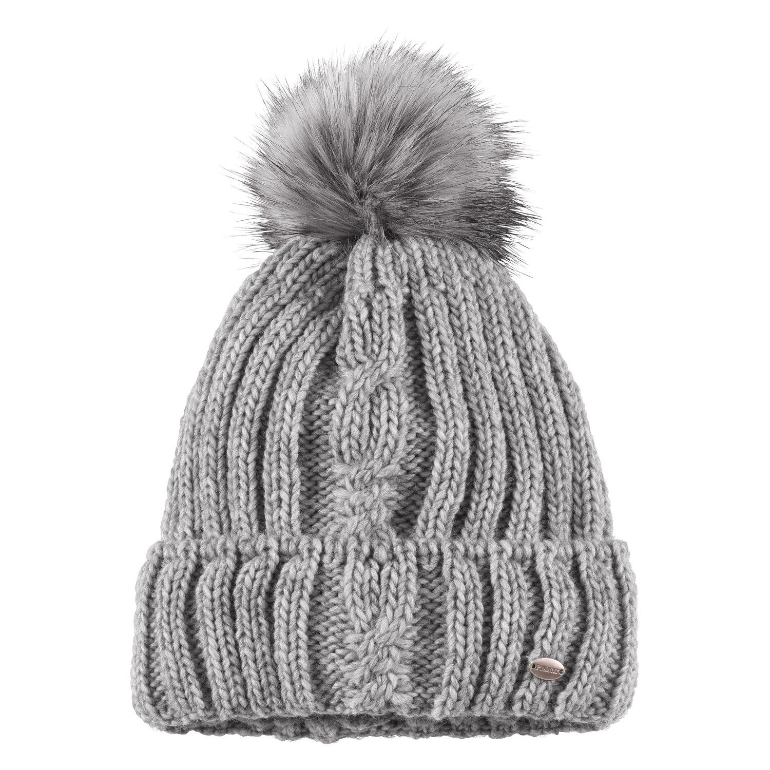 Pikeur Mütze mit Fell-Imitat-Bommel