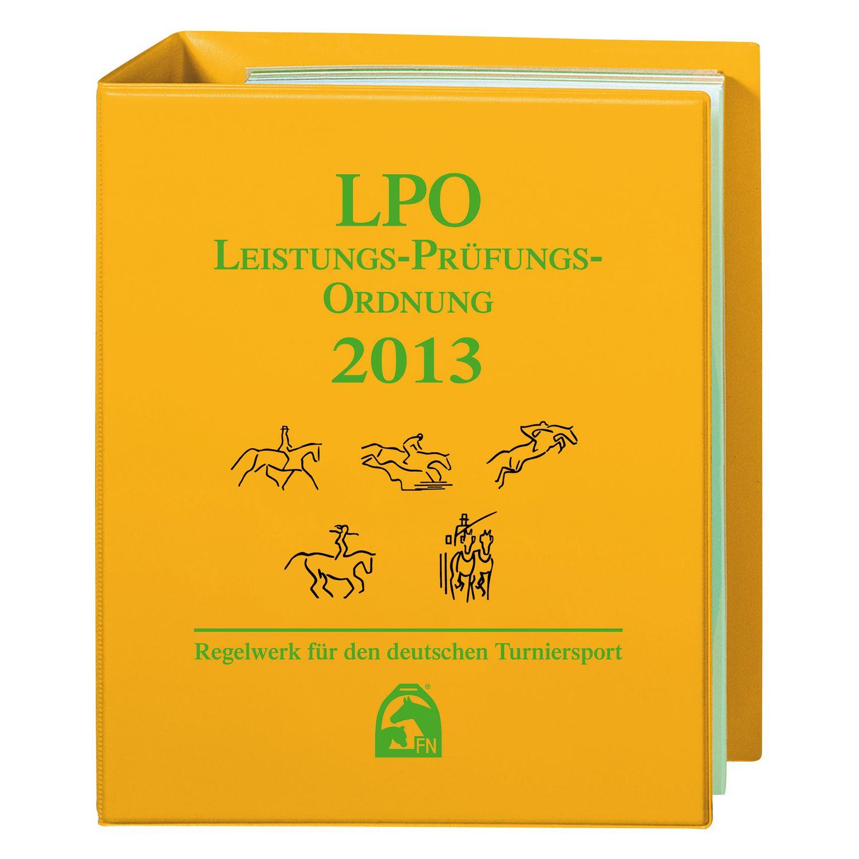 LPO Leistungs-Prüfungs-Ordnung (inkl. Ordner), FNverlag