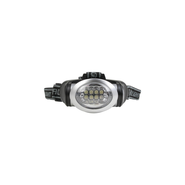Stirnlampe mit 8 LED-Leuchten