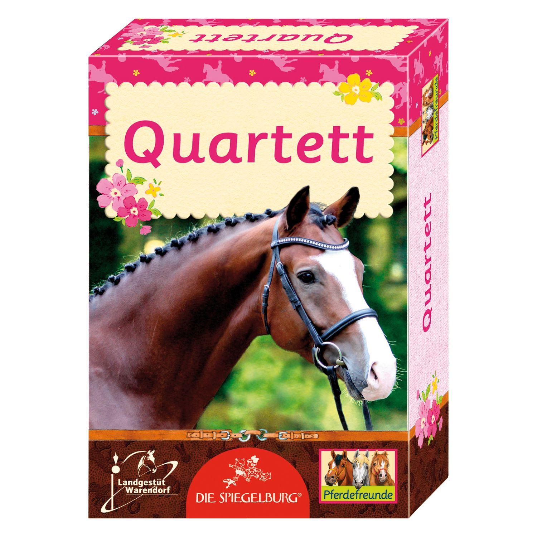 Die Spiegelburg Pferdefreunde Kartenspiel Quartett