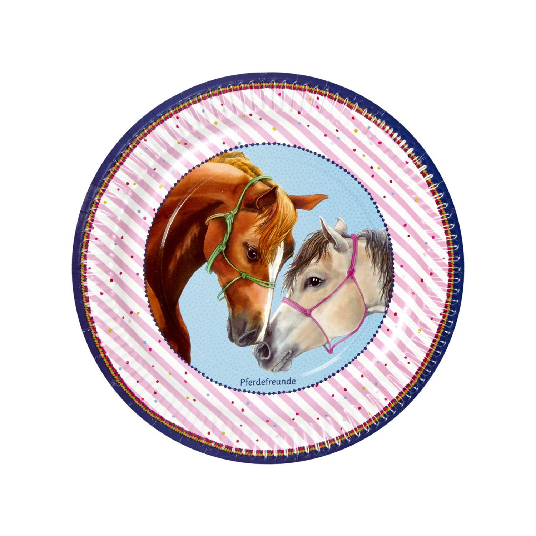 Die spiegelburg pferdefreunde pappteller f r den for Kindergeburtstag pappteller