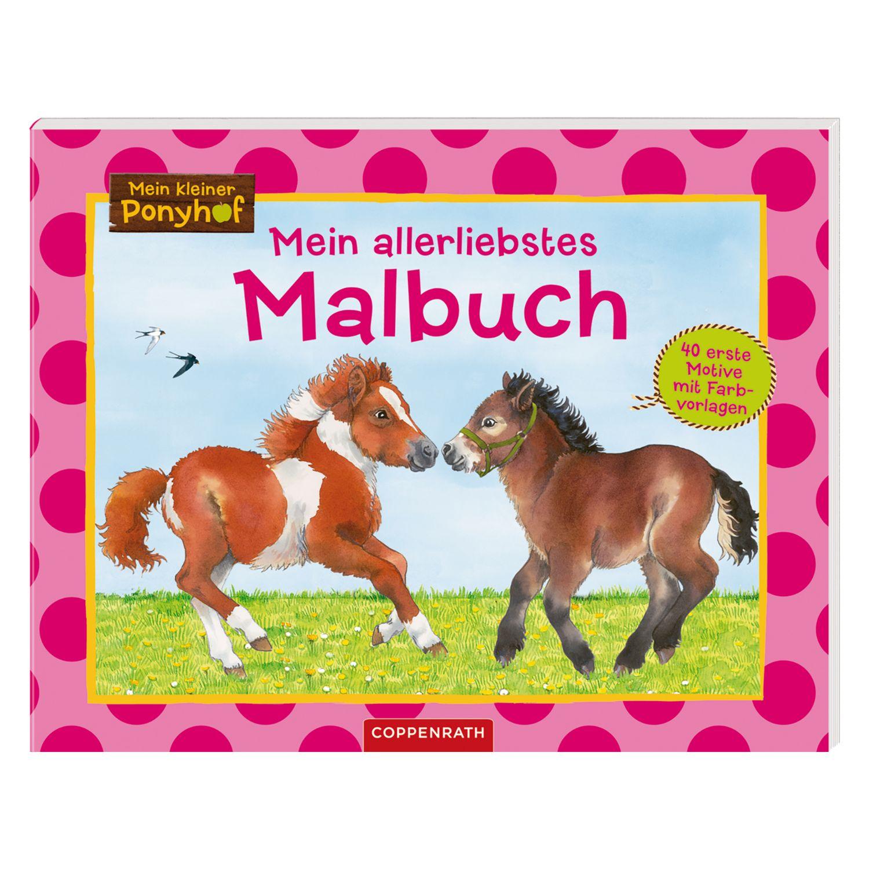 Die Spiegelburg Mein kleiner Ponyhof Mein allerliebstes Malbuch