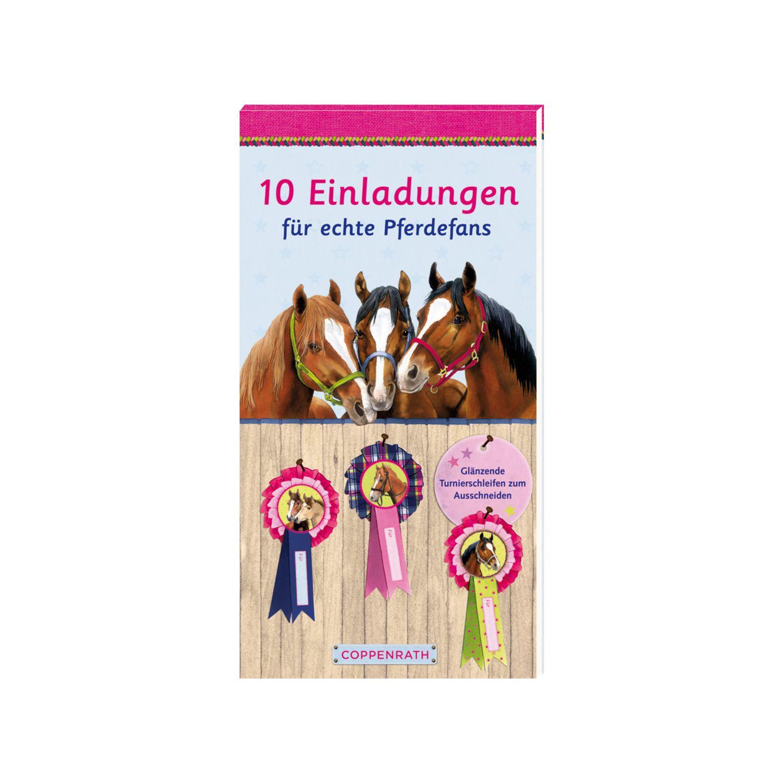 Die Spiegelburg Pferdefreunde Einladungskarten Die Spiegelburg  Pferdefreunde Einladungskarten