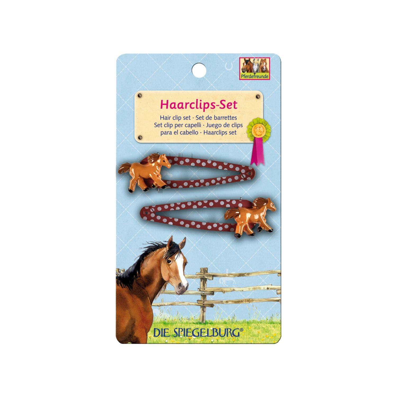 Die Spiegelburg Pferdefreunde Haarclips-Set