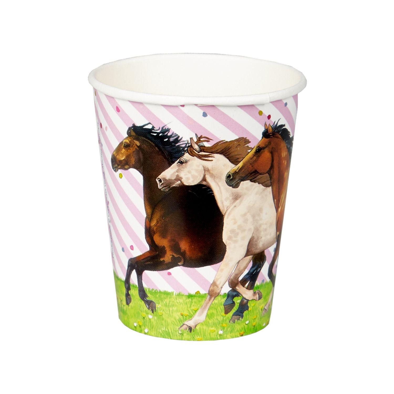 Die Spiegelburg Pferdefreunde Partybecher