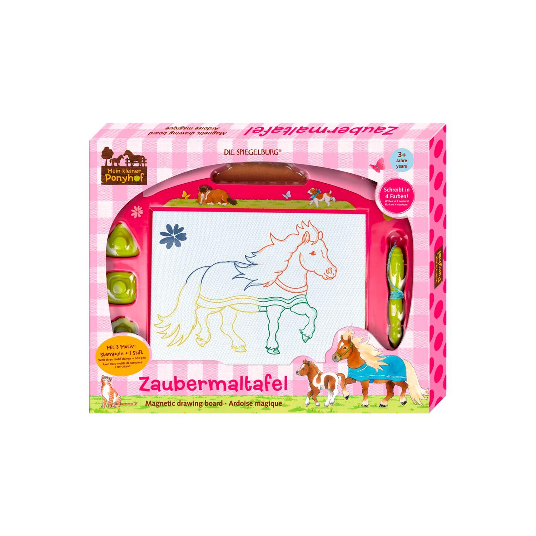 Die Spiegelburg Mein kleiner Ponyhof Zaubermaltafel