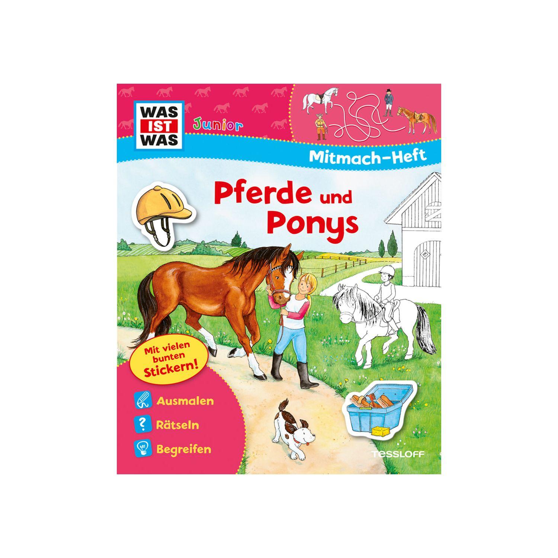 Was Ist Was Junior Mitmach Heft Pferde Und Ponys