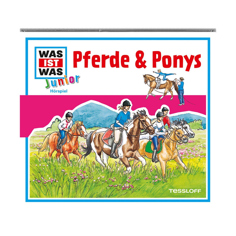 WAS IST WAS Junior Hörbuch Pferde und Ponys