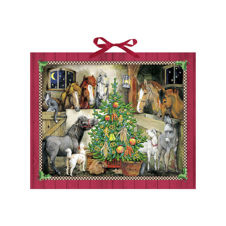 Die Spiegelburg Adventskalender Pferde-Weihnacht