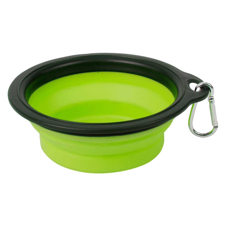 Bubimex Faltbarer Napf grün | 740 ml