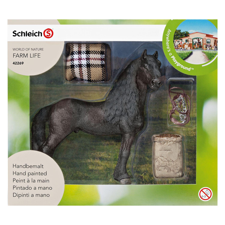 Schleich Pferdepflegeset Friese