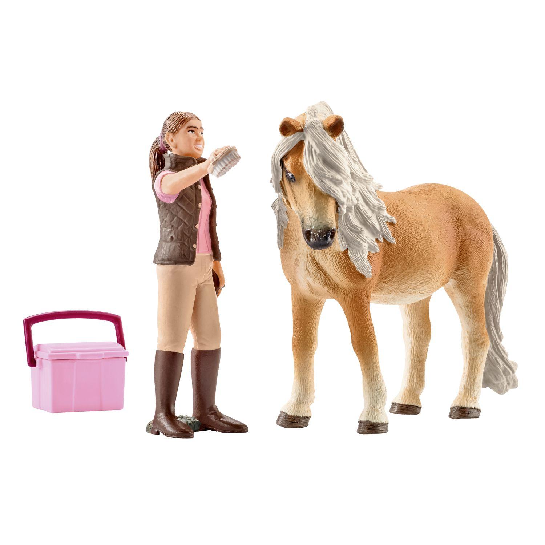 Schleich Pferdepflegerin mit Islandpony