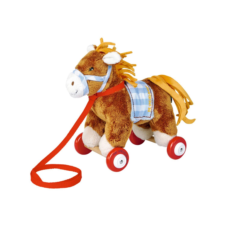 Die Spiegelburg Mein kleiner Ponyhof Pony Sam auf Holzrollen
