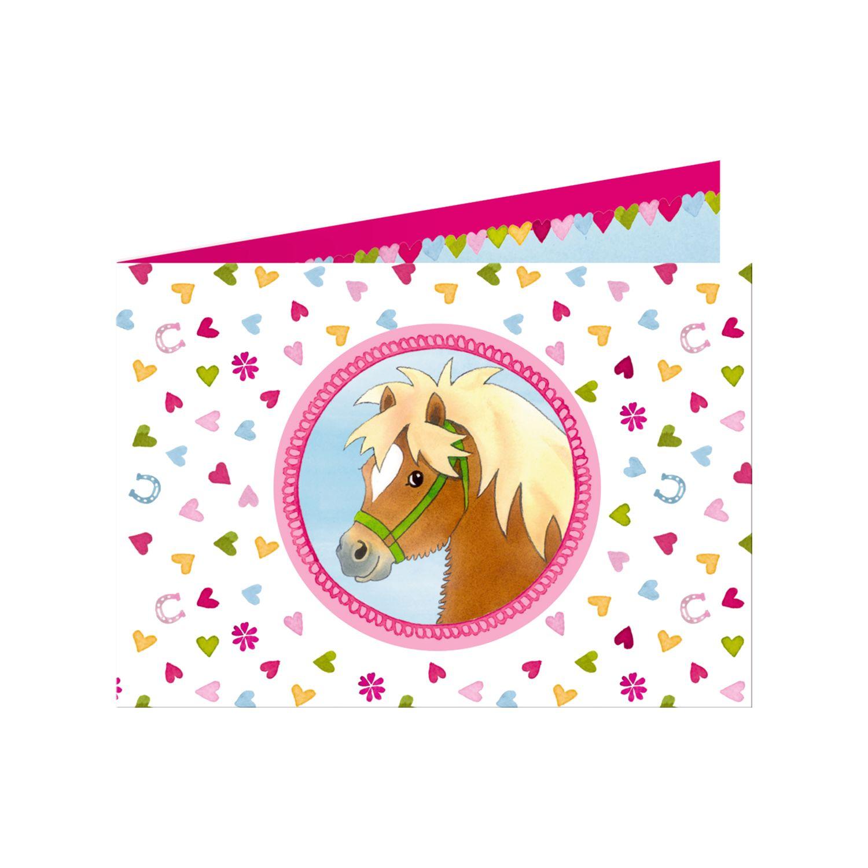 Die Spiegelburg Mein Kleiner Ponyhof Einladungskarten Die Spiegelburg Mein  Kleiner Ponyhof Einladungskarten